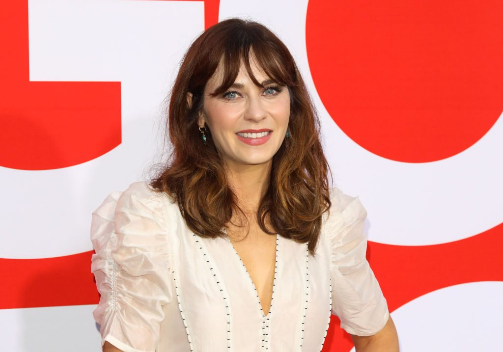 Zooey Deschanel attends the premiere of Universal Pictures' 'Good Boys.'