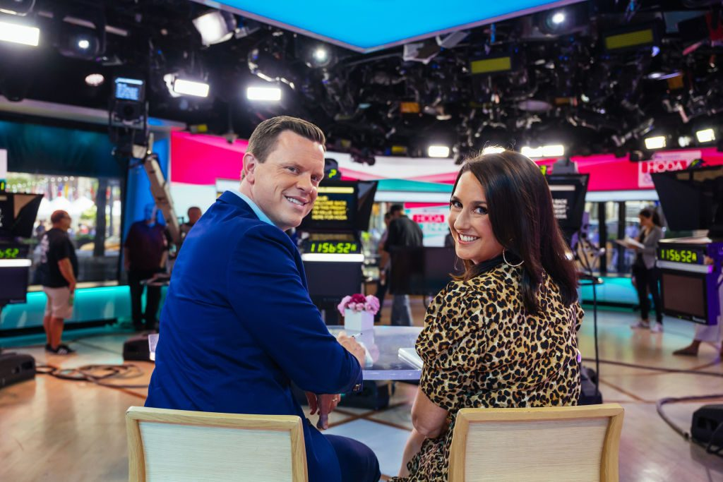 """Willie and Christina Geist on the """"Today Show"""""""