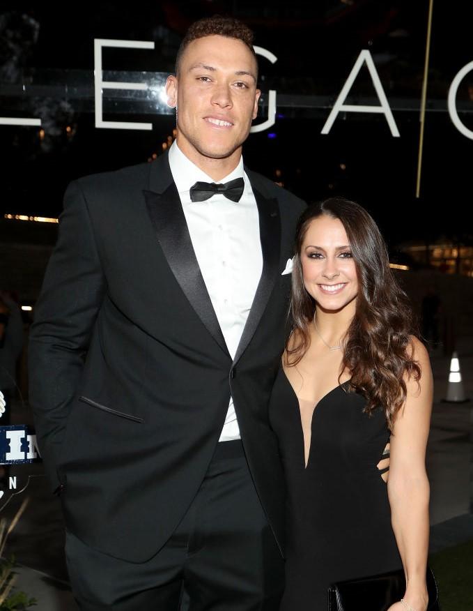 Aaron Judge and Samantha Bracksieck