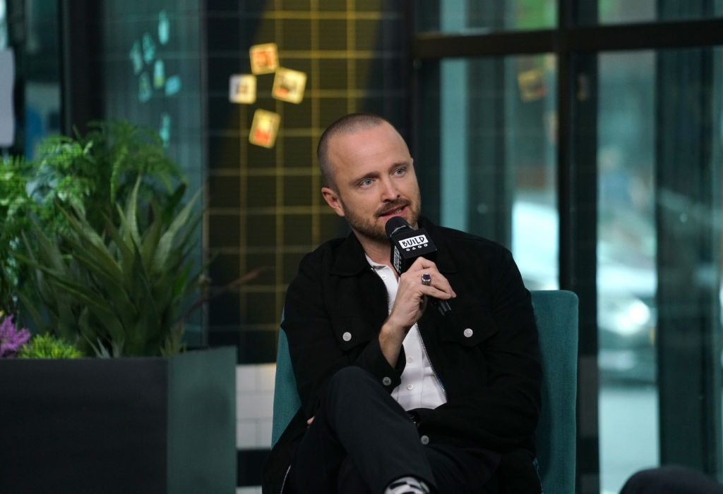 """Aaron Paul attends Build Series to discuss the film """"El Camino: A Breaking Bad Movie"""""""
