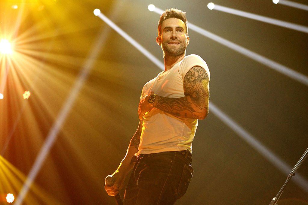 Adam Levine of The Voice