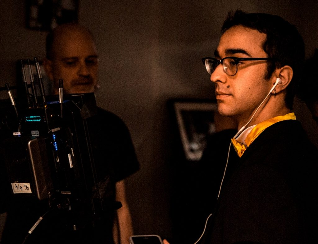 Alex Wolff directing The Cat and the Moon