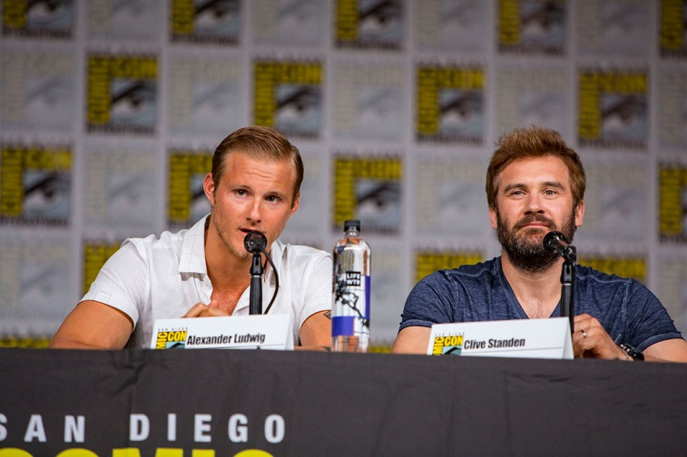 Alexander Ludwig and Clive Standen