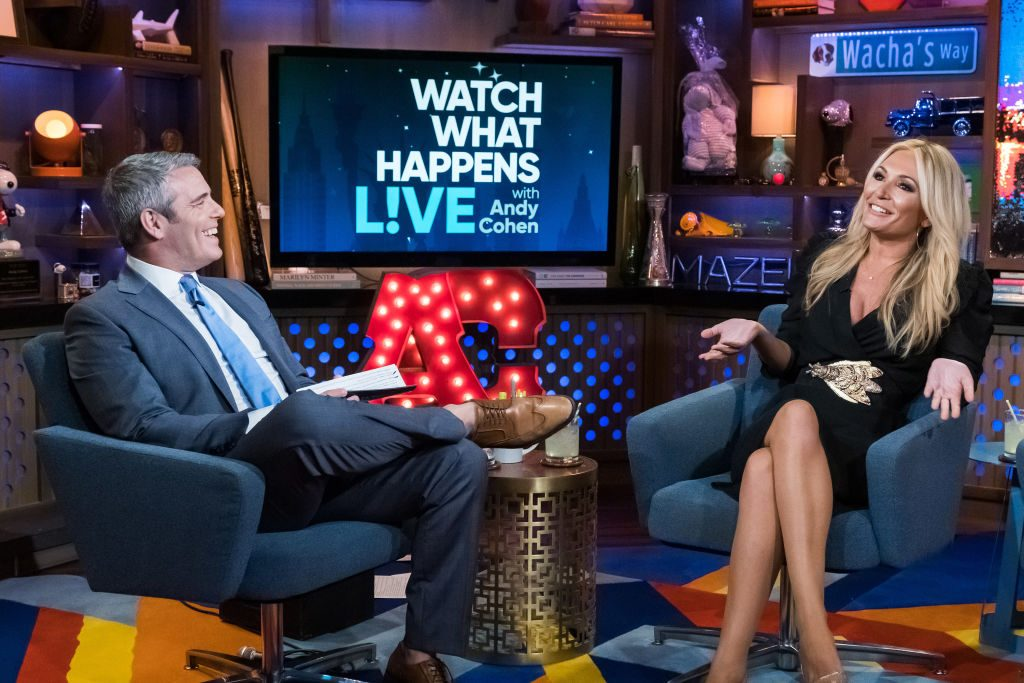 Andy Cohen and Kate Chastain