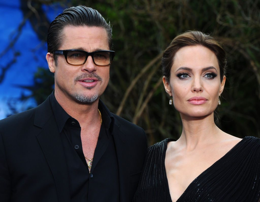 Brad Pitt's daughter Shiloh is his mini-me at Maleficent premiere