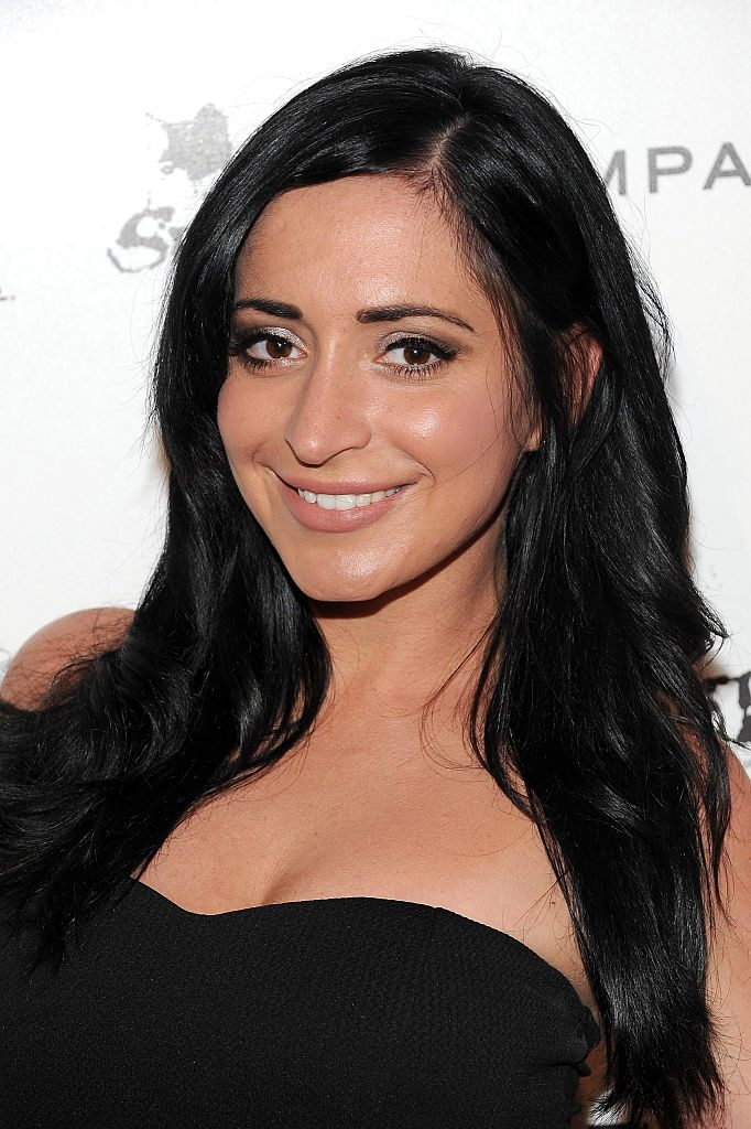Angelina Pivarnick attends the Star Magazine Scene Stealers Event
