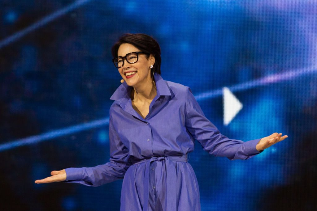 Ann Curry at WE Day Seattle