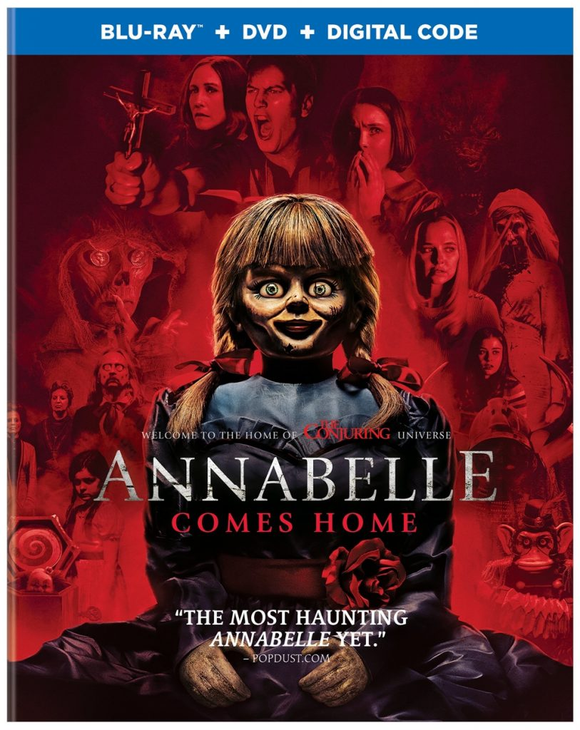 Annabelle Comes Home Blu-ray