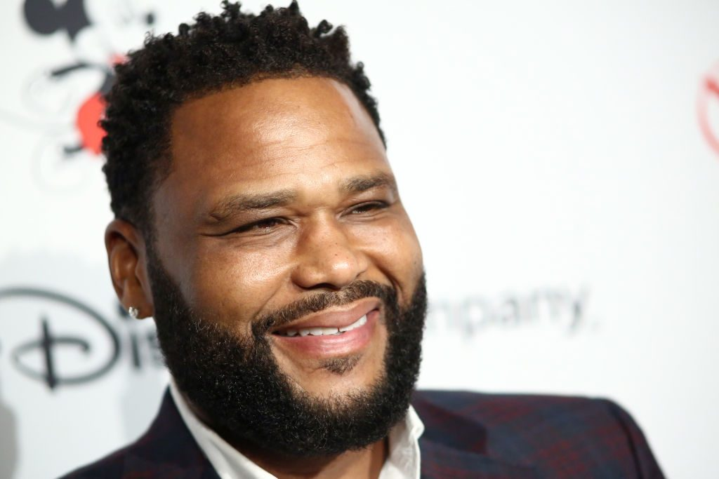 Anthony Anderson on the red carpet