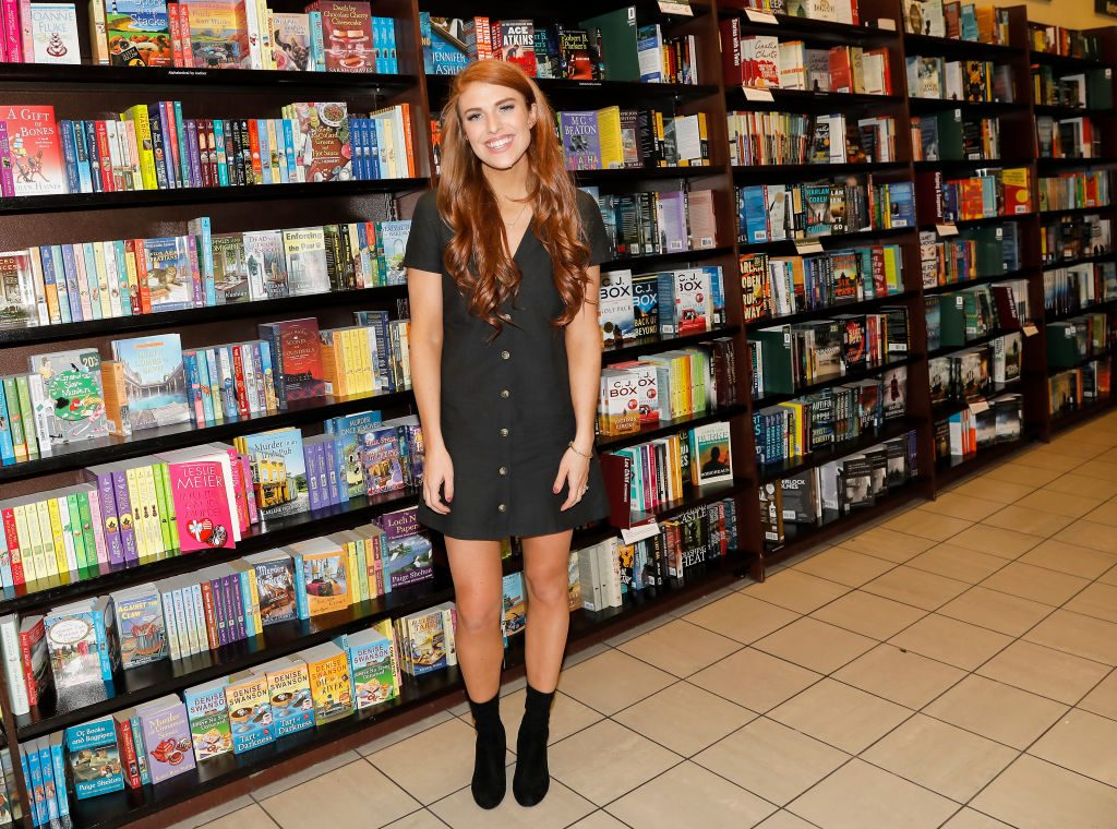 Audrey Roloff celebrates her new book ,'A Love Letter Life,'