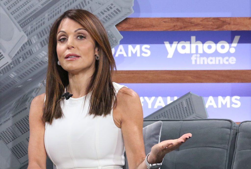 Bethenny Frankel attends the Yahoo Finance All Markets Summit