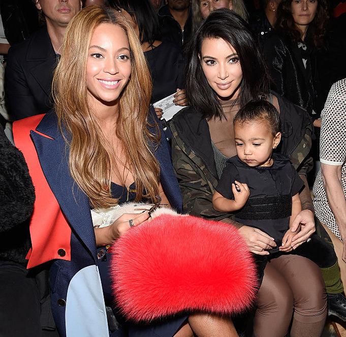 Beyoncé and Kim Kardashian West