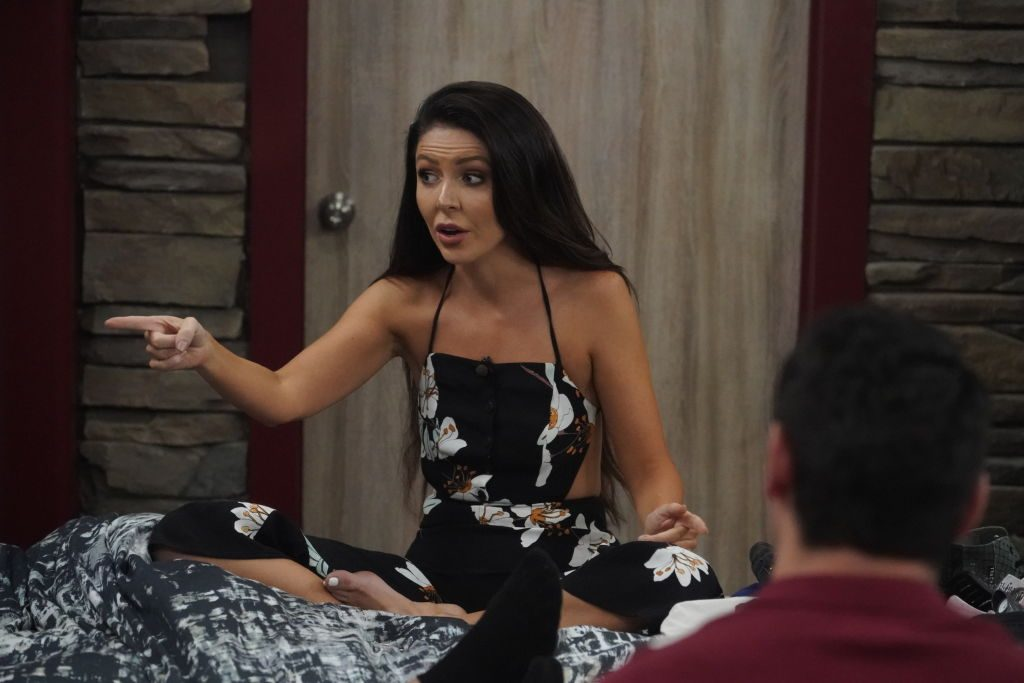 Holly Allen on 'Big Brother'
