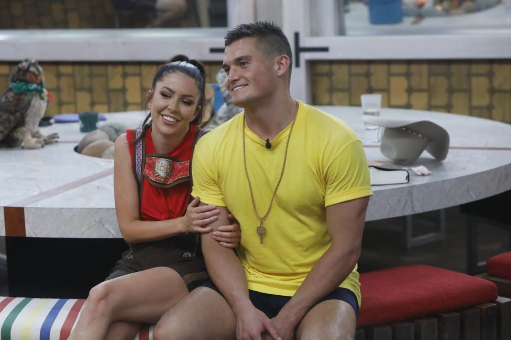 Holly Allen and Jackson Michie on 'Big Brother'