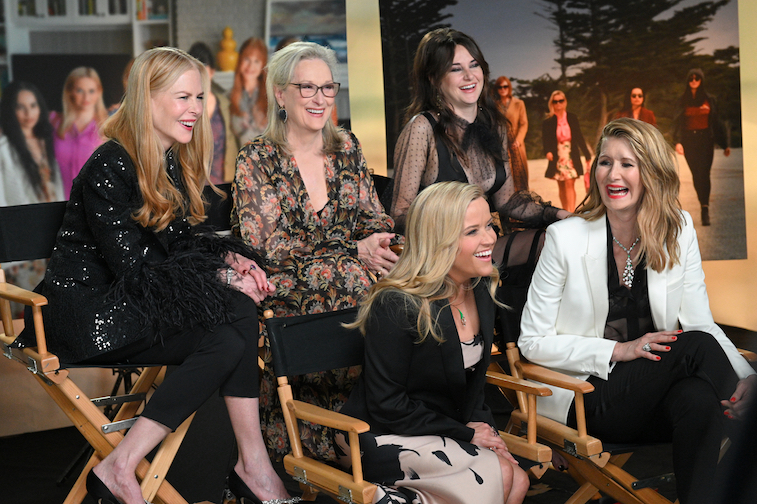 The cast of Big Little Lies on good morning america