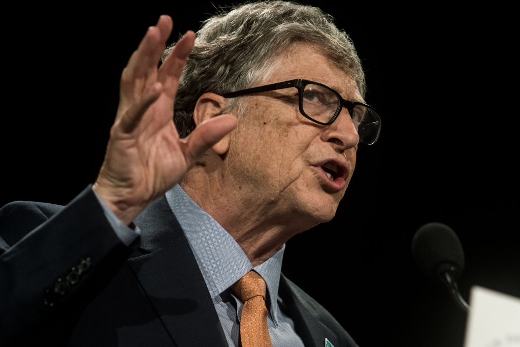 Bill Gates and the sun are probably on pretty neutral terms