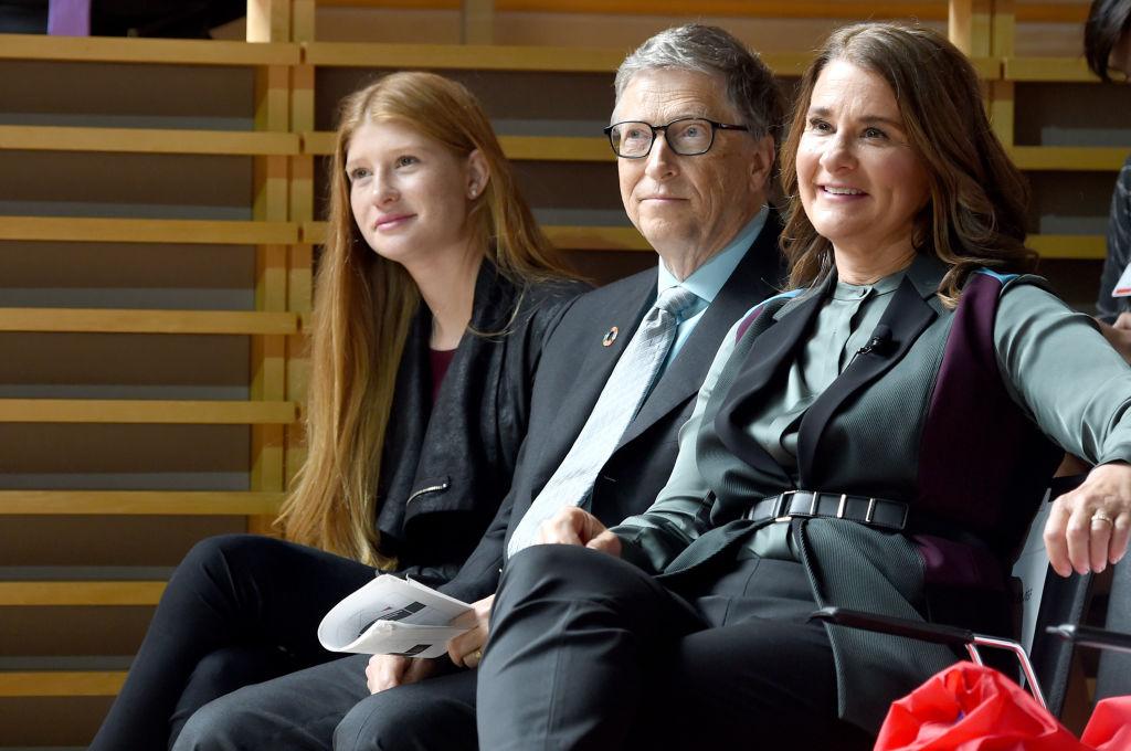 Phoebe Adele Gates, Bill Gates, and Melinda Gates