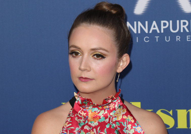 Billie Lourd on the red carpet