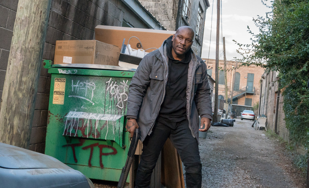 Tyrese Gibson & the Black and Blue Cast