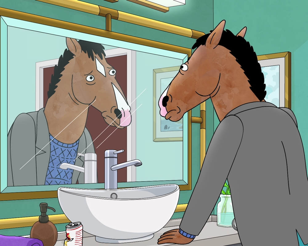 Adult cartoon BoJack Horseman