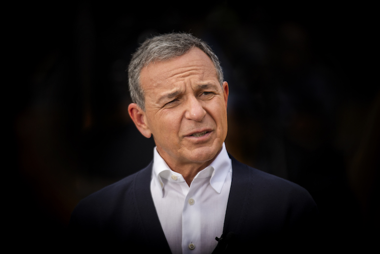 Bob Iger is interviewed at Galaxy's Edge