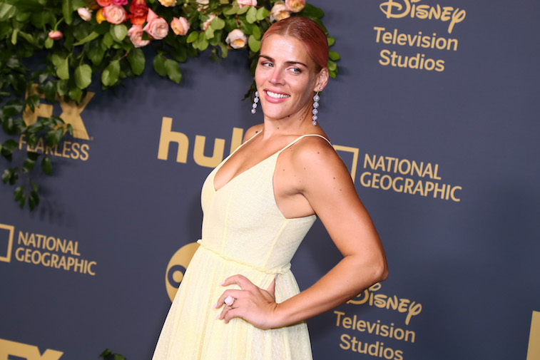 Busy Philipps on the red carpet