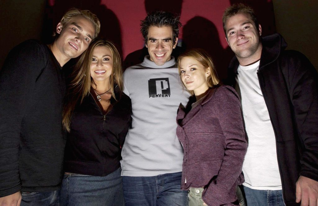 Eli Roth and the cast of Cabin Fever