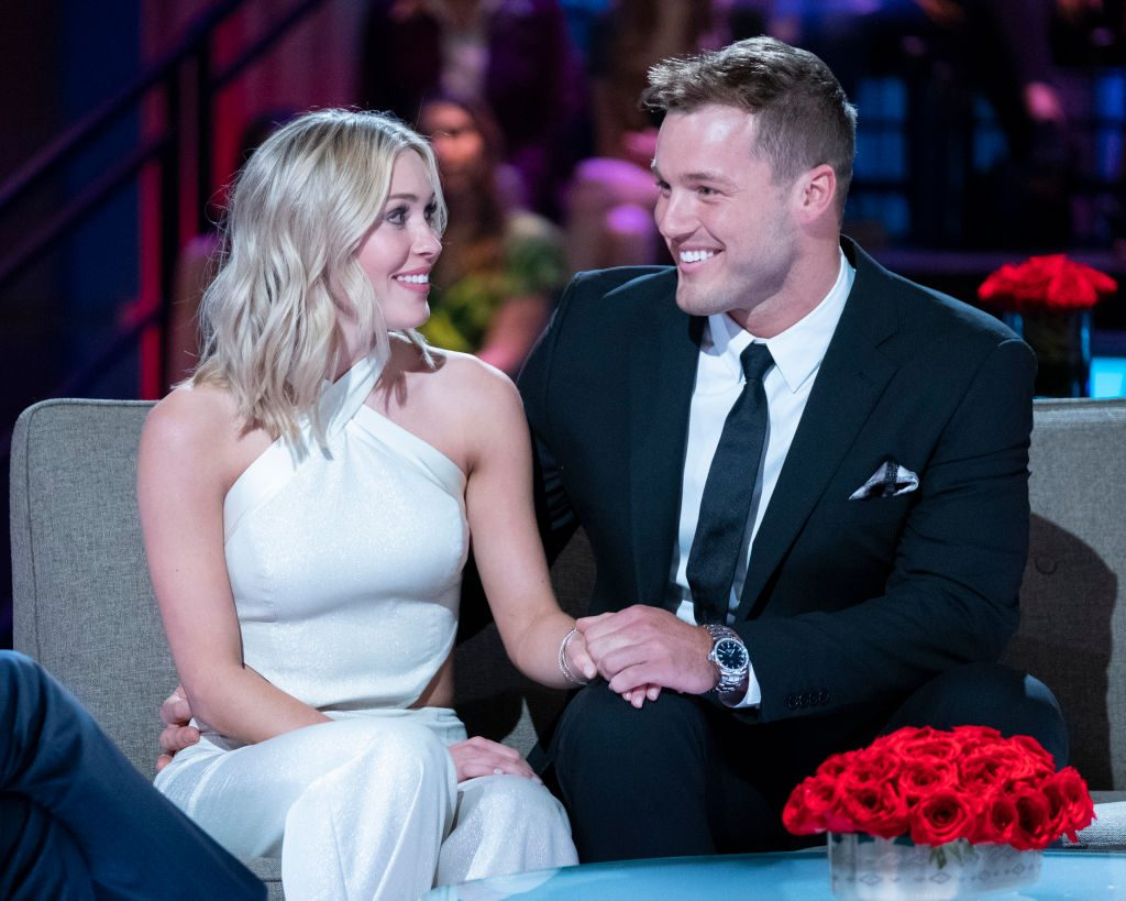 Cassie Randolph and Colton Underwood | John Fleenor via Getty Images
