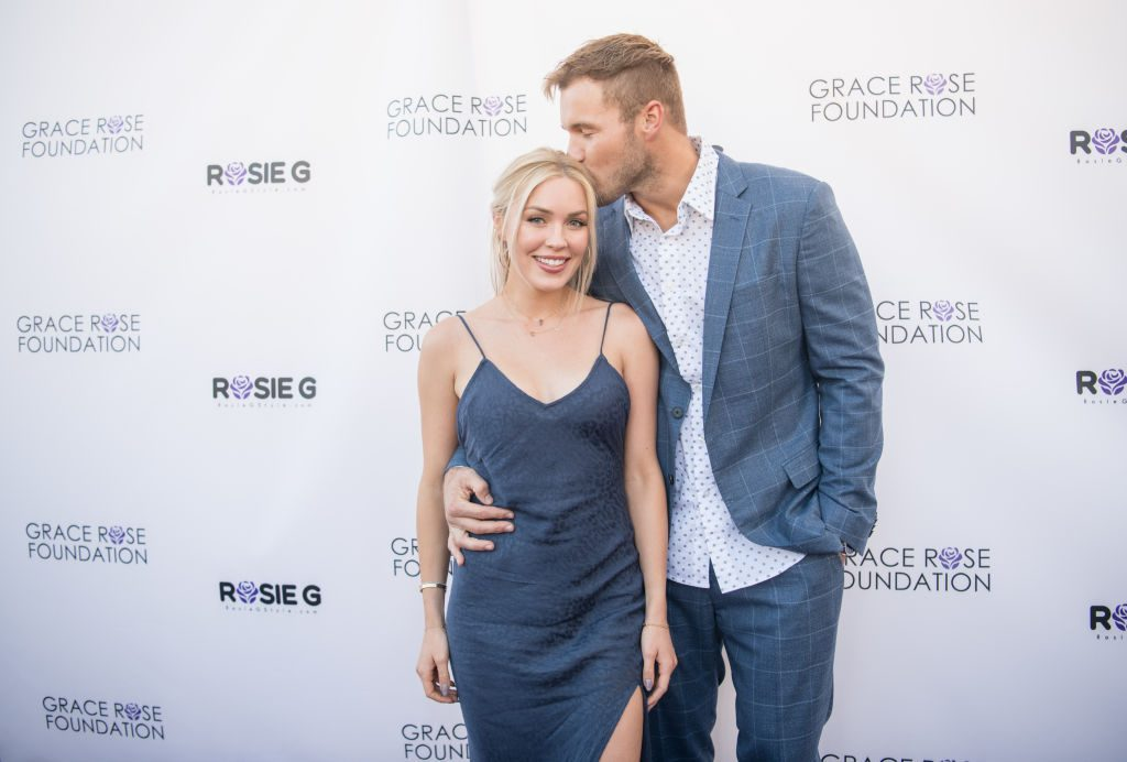 Bachelor alums Cassie Randolph and Colton Underwood