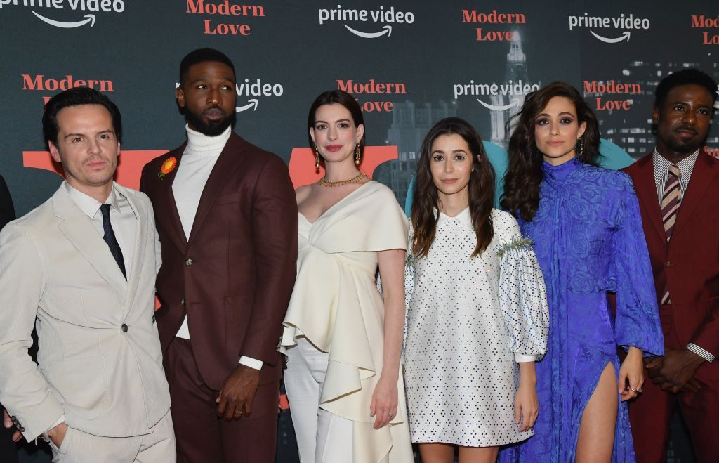 Cast of Amazon Modern Love | ANGELA WEISS/AFP via Getty Images