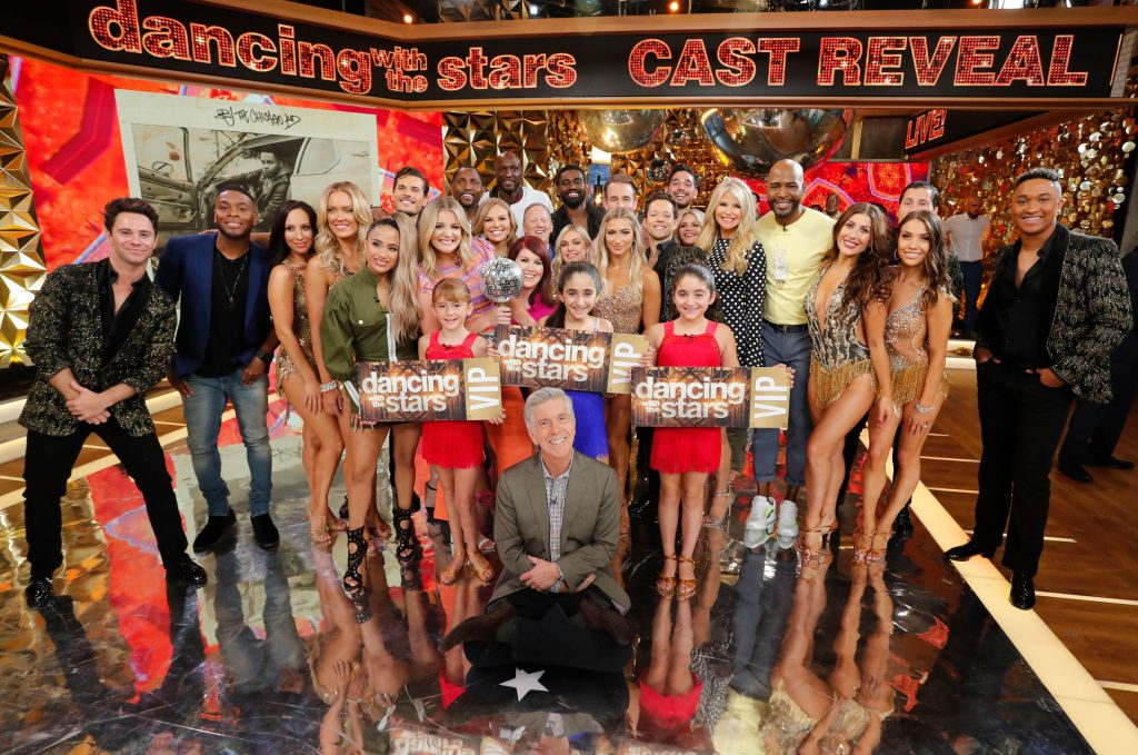 The 2019 cast of 'Dancing with the Stars'