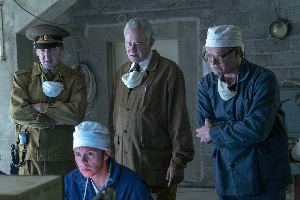 A scene still from Episode 4 of HBO's 'Chernobyl.'