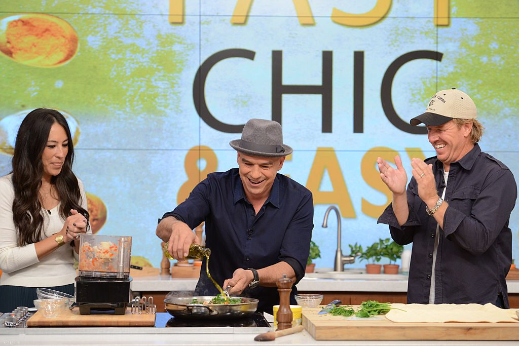 Chip and Joanna Gaines on The Chew | Lorenzo Bevilaqua/Walt Disney Television via Getty Images