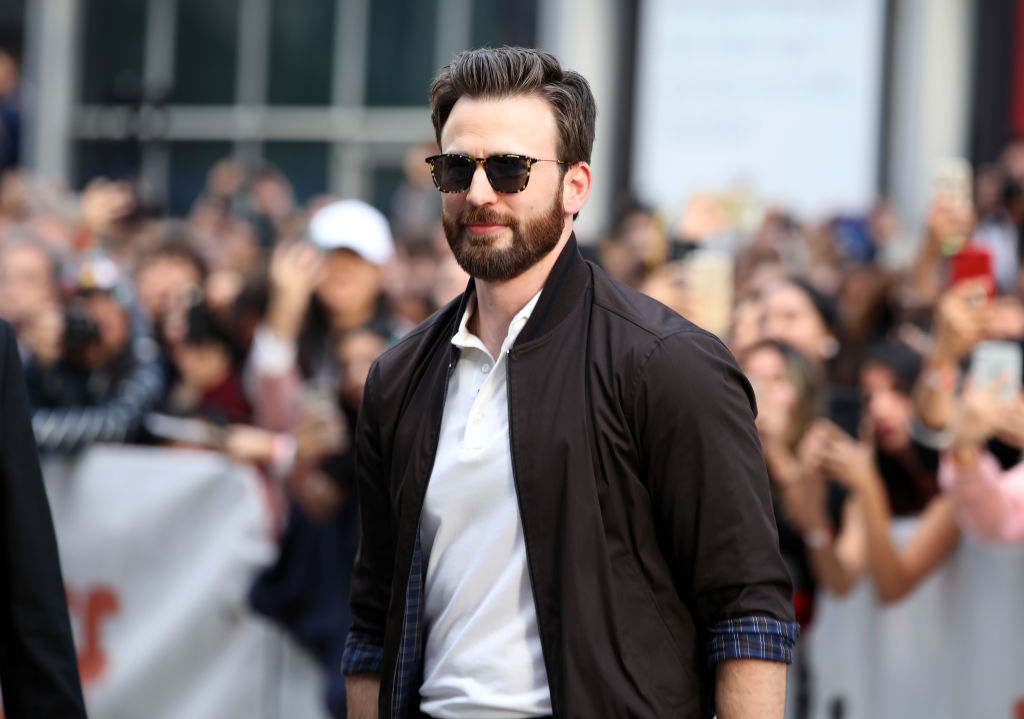 Chris Evans Had the Perfect Response to John Krasinski's Tweet