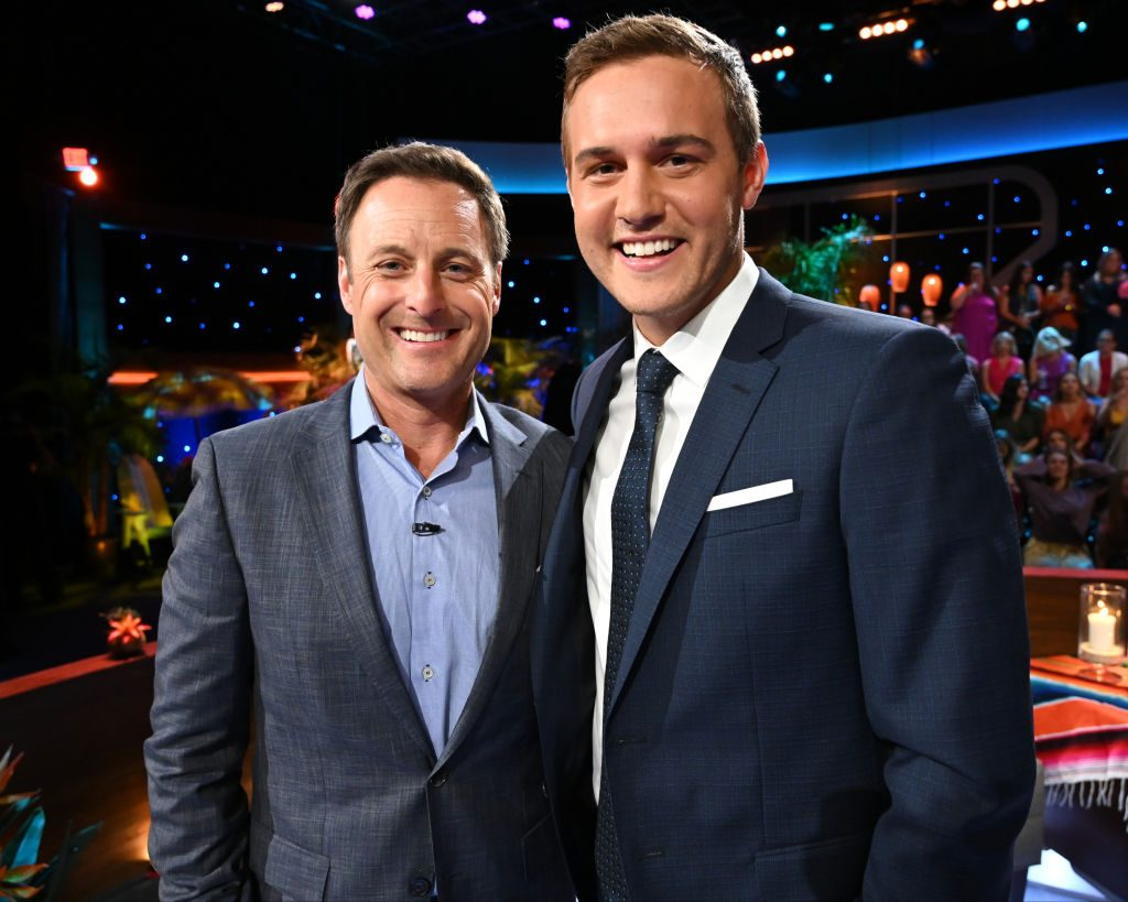 Chris Harrison and Peter Weber on the 'Bachelor in Paradise' finale
