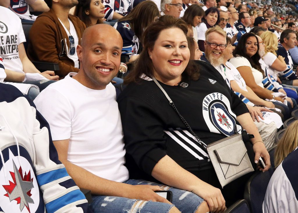 Chrissy Metz and Donnie Berry