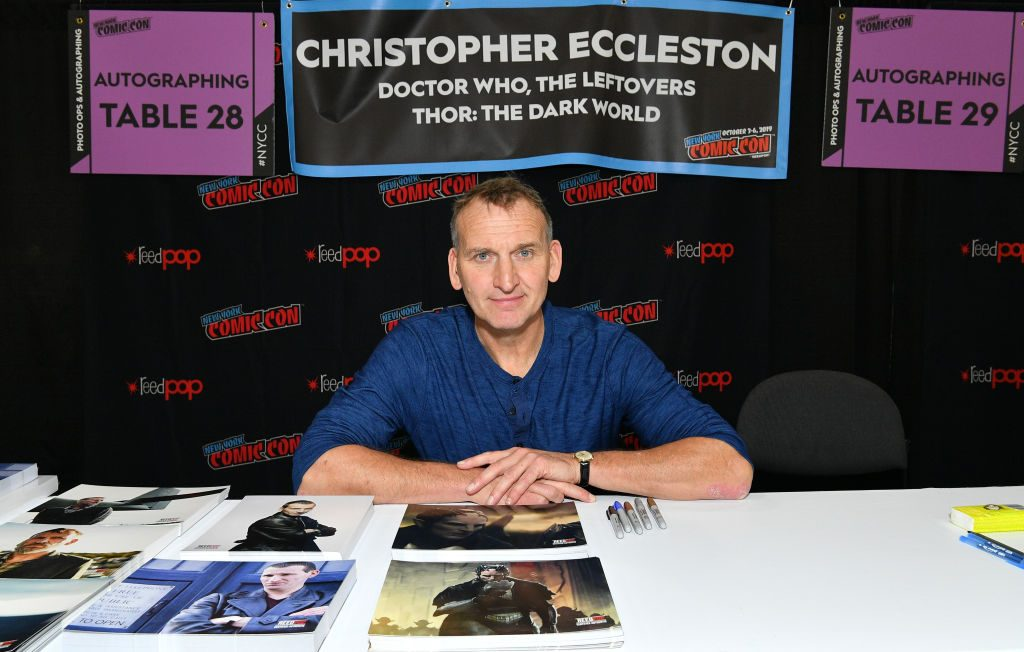 Christopher Eccleston of Doctor Who