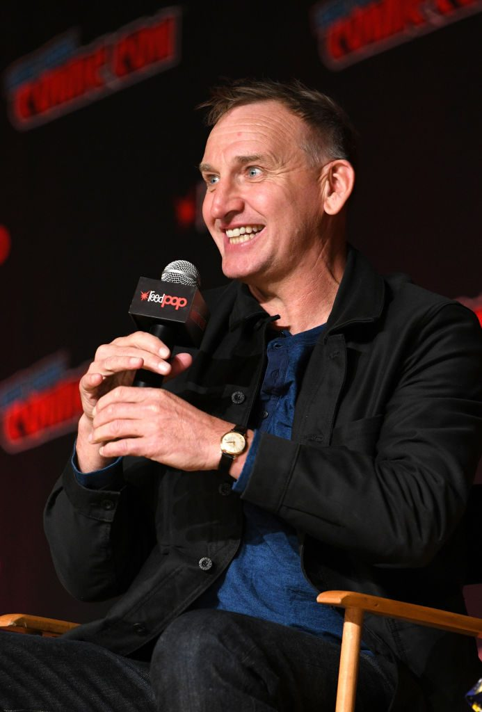 Christopher Eccleston of Doctor Who at New York Comic Con