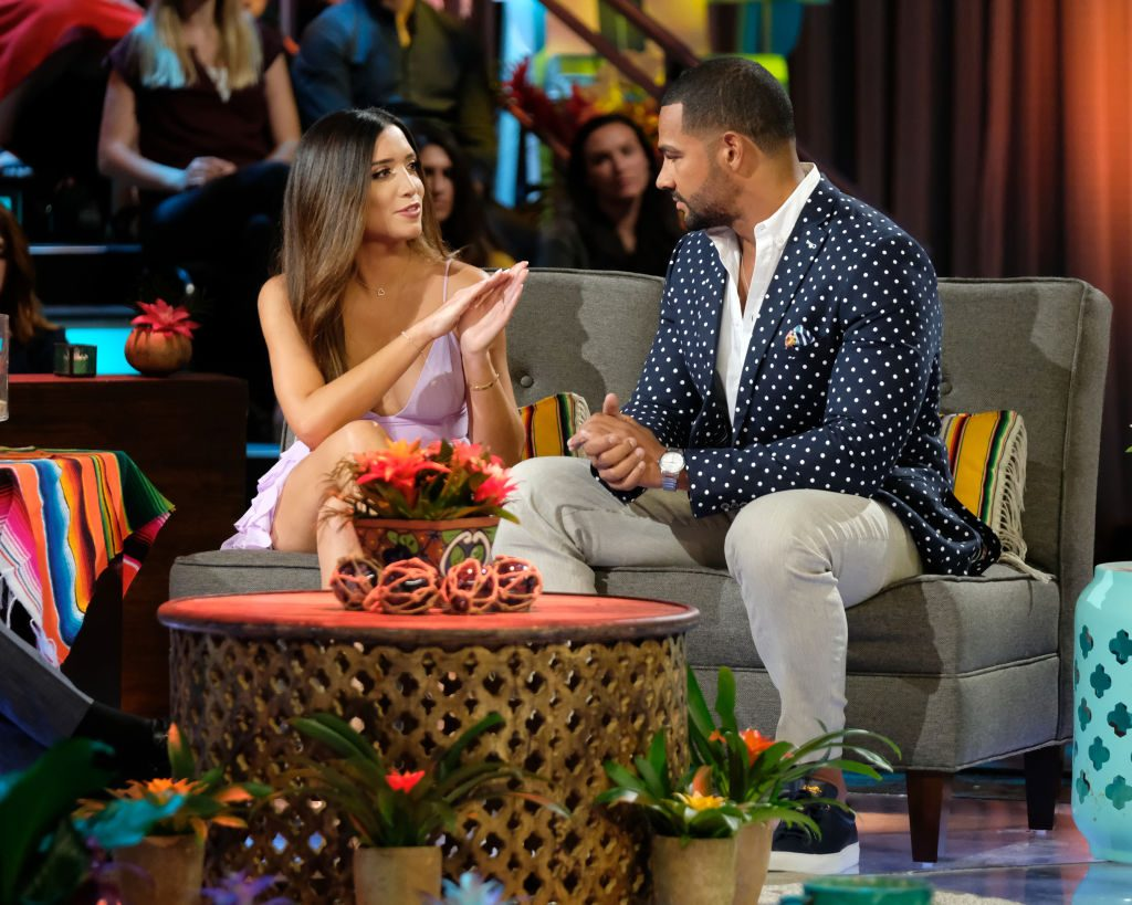 Nicole Lopez-Alvar and Clay Harbor at the 'Bachelor in Paradise' reunion