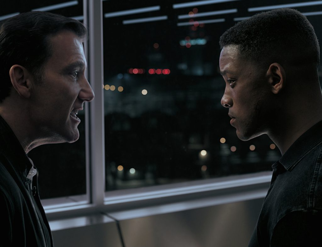 Clive Owen and Will Smith in Gemini Man