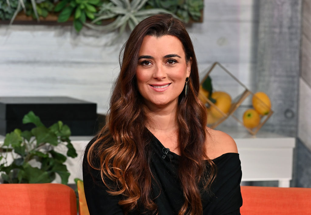 Cote de Pablo being interviewed about NCIS