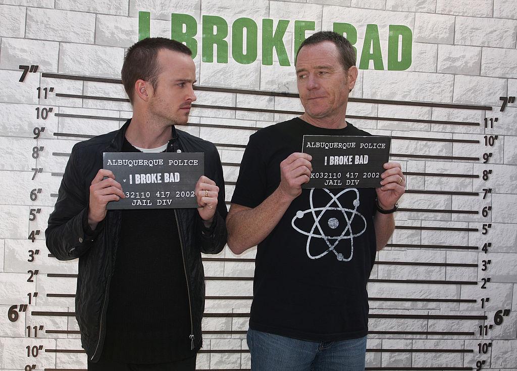 Bryan Cranston and Aaron Paul