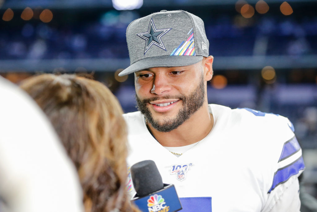 Is Dallas Cowboy Quarterback Dak Prescott Married And Does He Have Any Children