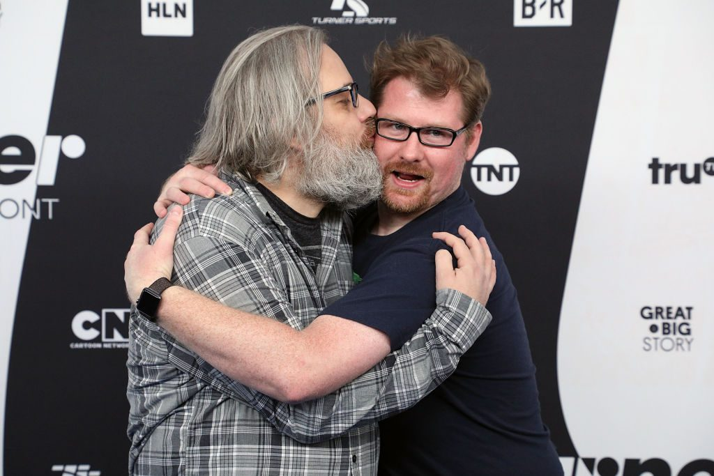 Dan Harmon and Justin Roiland | Taylor Hill/FilmMagic