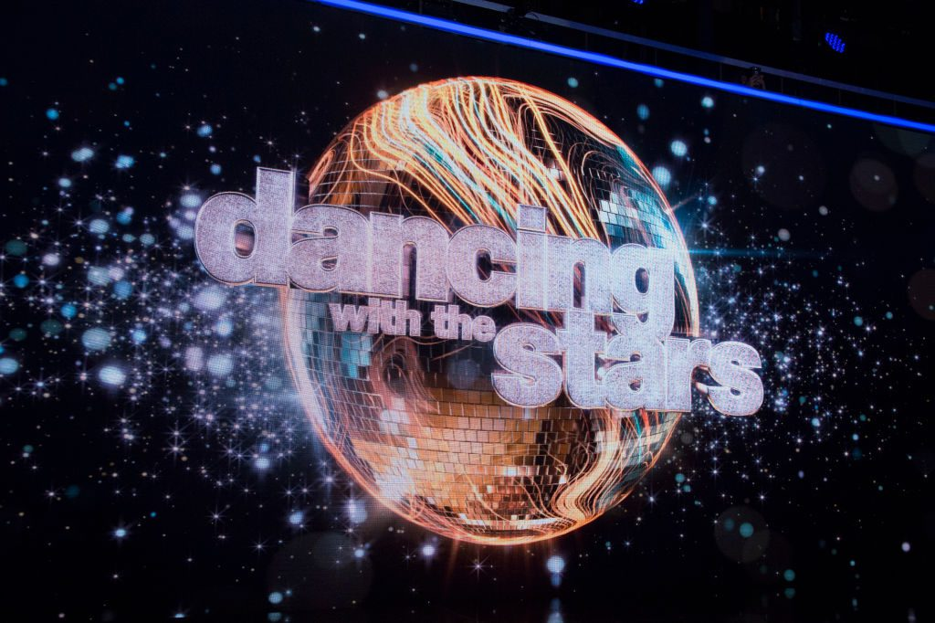"""Dancing with the Stars"" logo"