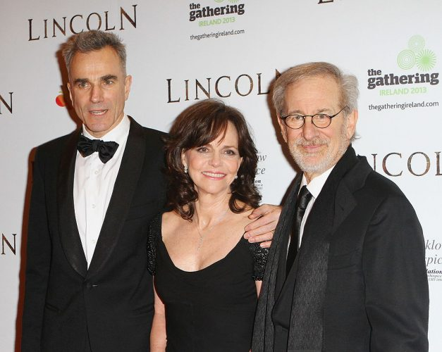 Daniel Day-Lewis, Sally Field and Steven Spielberg