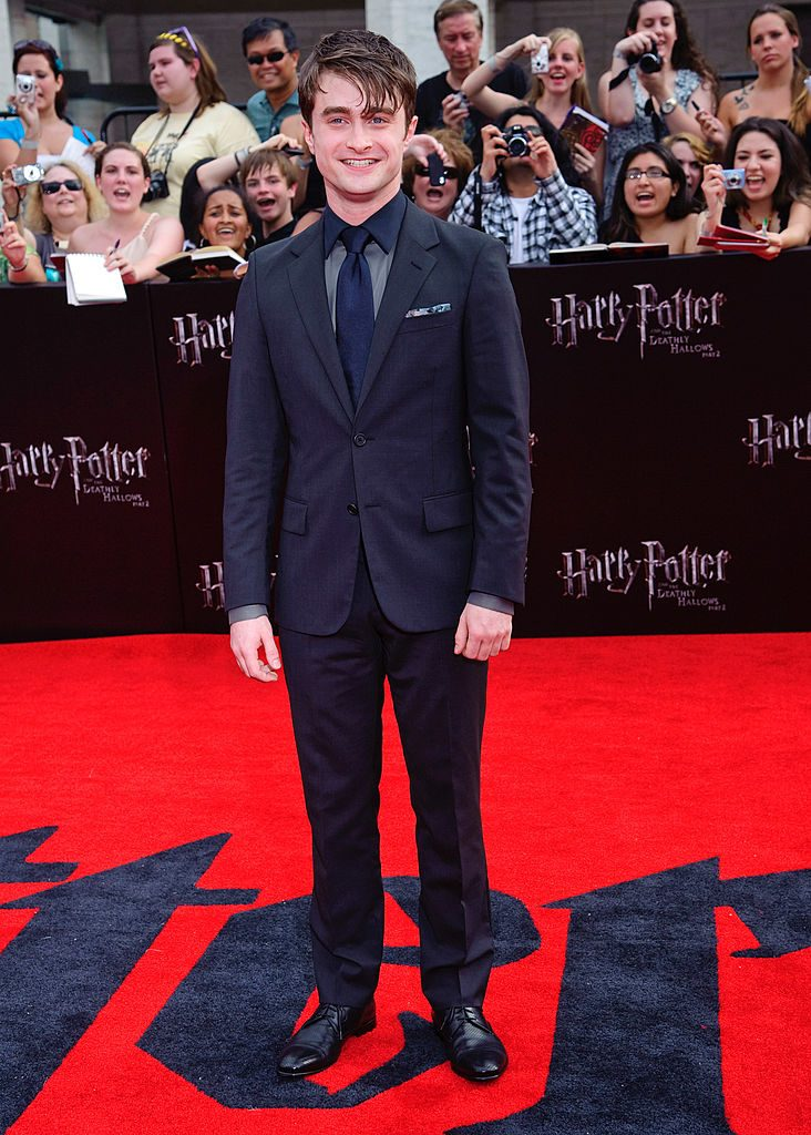 Daniel Radcliffe at the premiere of Harry Potter and the Deathly Hallows Part 2