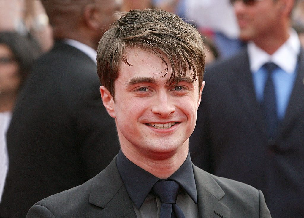 Daniel Radcliffe (Harry Potter) at Deathly Hallows Part 2 premiere