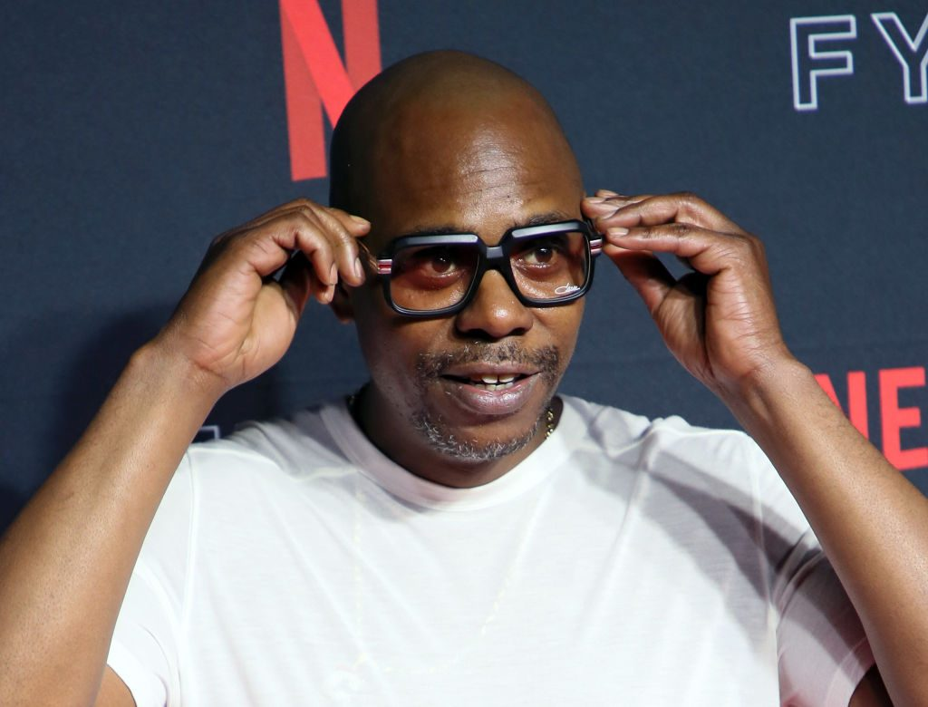 Dave Chappelle on the red carpet