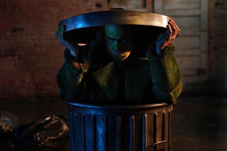 David Harbour as Oscar the Grouch
